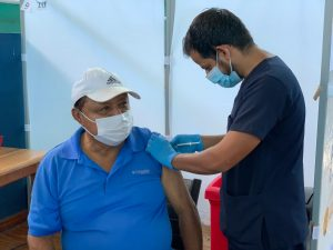 Galapagos Covid-19 vaccination